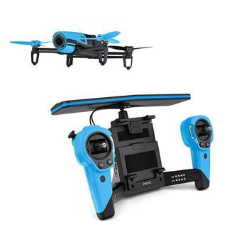 派诺特 parrot bebop drone 四轴智能wifi航模遥控飞机 无人机 蓝色