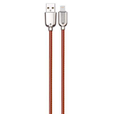 英米 皮革Type-C数据线 S08    棕色