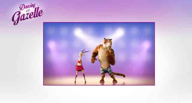 《疯狂动物城》里的跳舞app