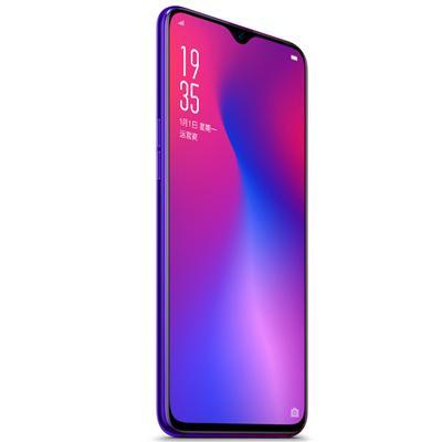 OPPO R17光感屏幕指纹解锁 双卡双待手机 6GB  128GB 霓光紫 4G全网通